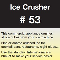 Ice Crusher #53